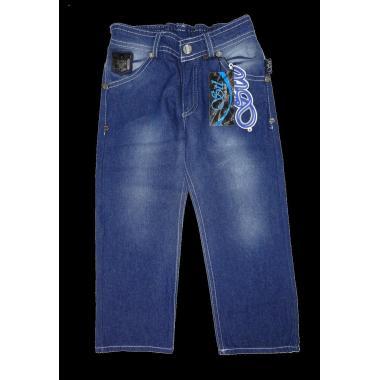 Дънки класик джобче сини