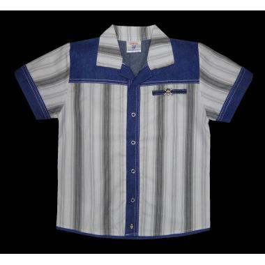 Риза райе с дънкова комбинация Р-12