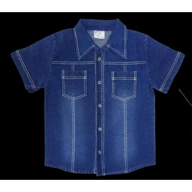 Дънкова риза класик 2