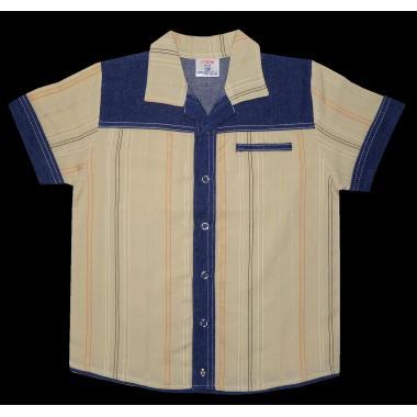 Риза райе дънкова комбинация Р-104