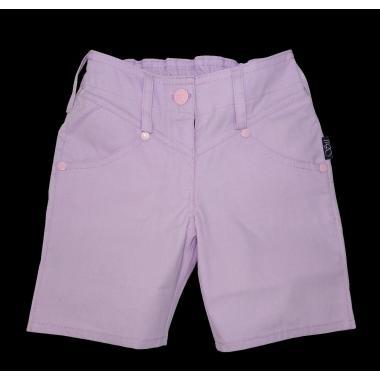 Дънкови панталонки 3/4 в млечно лилаво