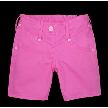 Дънкови панталонки 3/4 в наситено розово