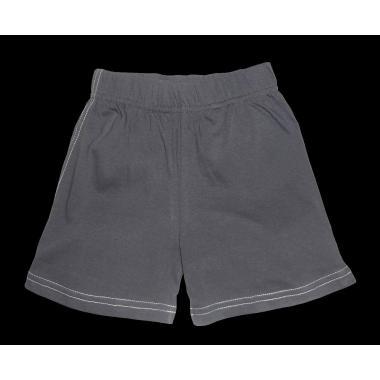 Къси трикотажни панталонки в сиво