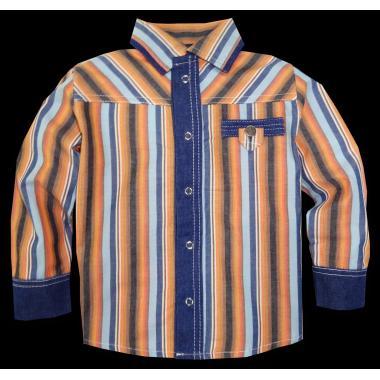 Риза райе дънков маншет P-98