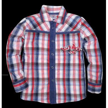 Риза с дънкова комбинация К-2