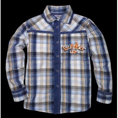 Риза с дънкова комбинация К-3