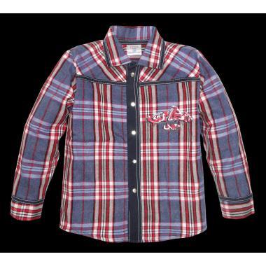 Риза с дънкова комбинация К-5