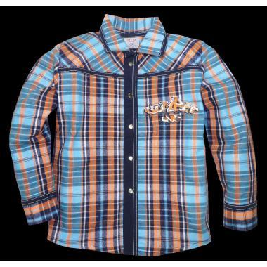 Риза с дънкова комбинация К-7