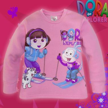 Блуза 3-конечна вата Дора и Ботичко в розово 1