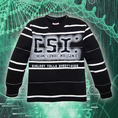 Блуза ластична райе CSI 9