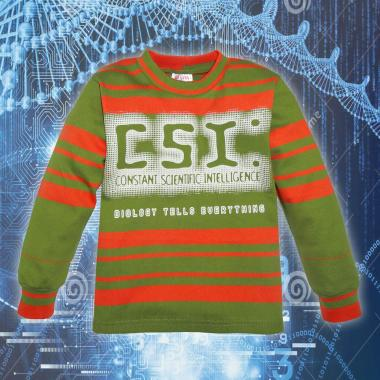 Блуза ластична райе CSI 4