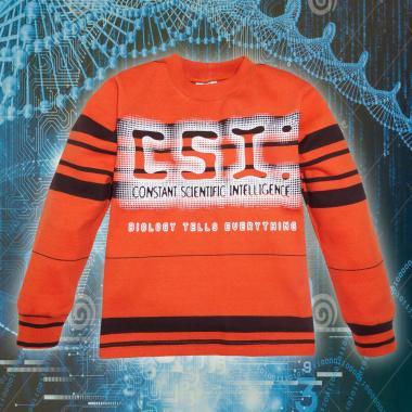 Блуза ластична райе CSI 2