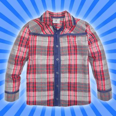 Риза с дънкова комбинация К-4