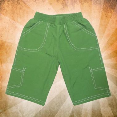 Панталон 3/4 парашут в зелено