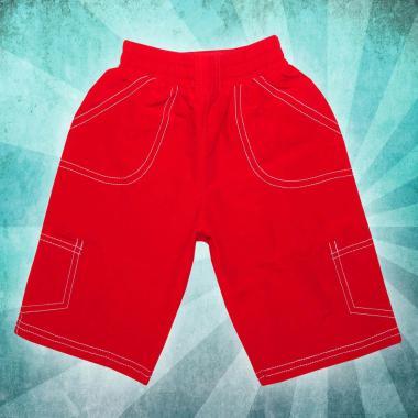 Панталон 3/4 парашут в червено