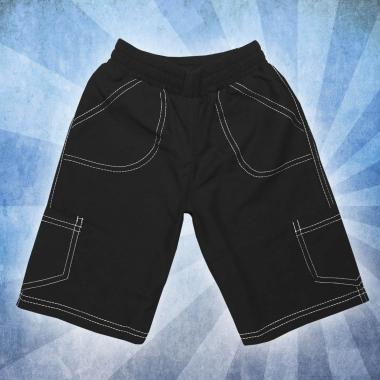 Панталон 3/4 парашут в черно