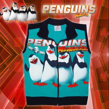Елек Пингвините в морско синьо