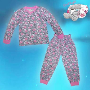 Пижама Цветна градина в розово N-27
