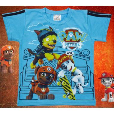 Тениска Пес Патрул в наситено синьо
