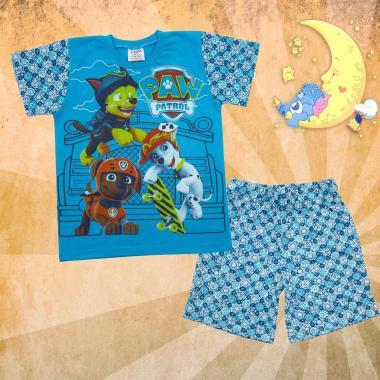 Пижама лятна Пес Патрул в синьо