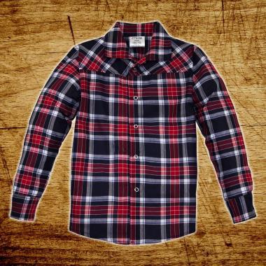 Риза каре с тик-так копчета А-2