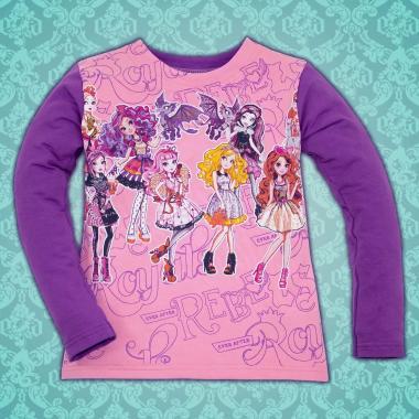 Блуза Ever After High в розово/лилаво