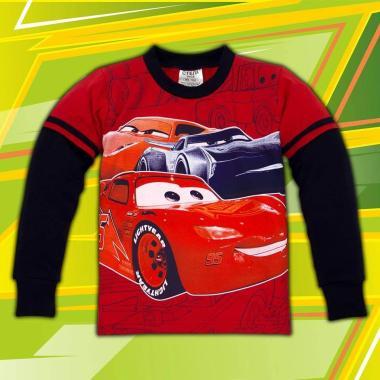 блуза тънка с дълъг ръкав Макуин в червено