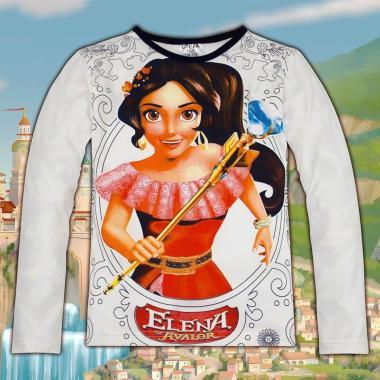 блуза тънка с дълъг ръкав Елена от Авалор в екрю