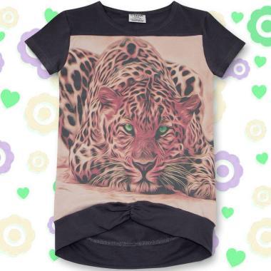 Туника Тигър в сиво и розово