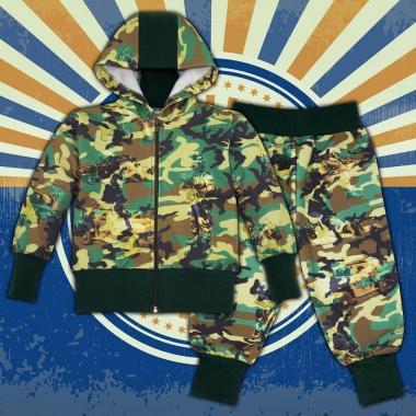 Камуфлажен комплект 2 части (с/д) Soldier хаки