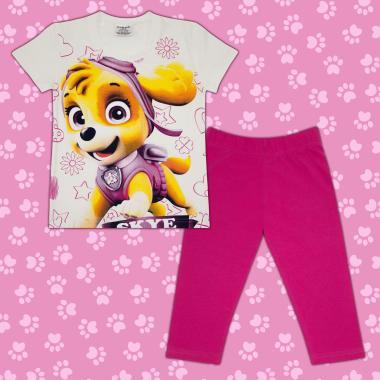 Комплект блузка и клин Скай Пес Патрул в екрю М1