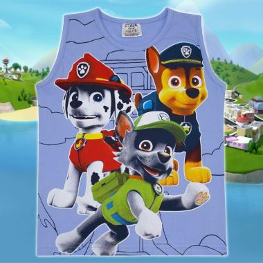 Тениска без ръкав Пес Патрул в синьо