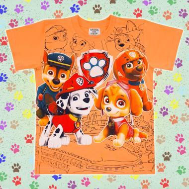 Тениска Пес Патрул в резеда