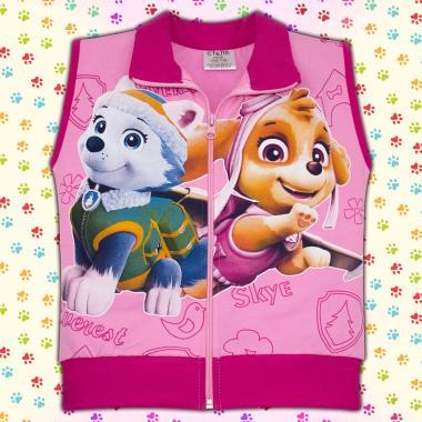 Елек Скай и Еверест Пес Патрул в розово