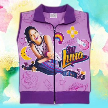 Елек Soy Luna в лилаво