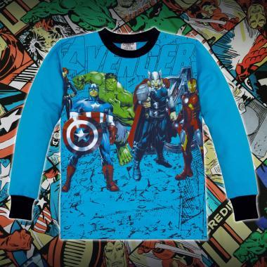 Блуза Avengers парк в синьо