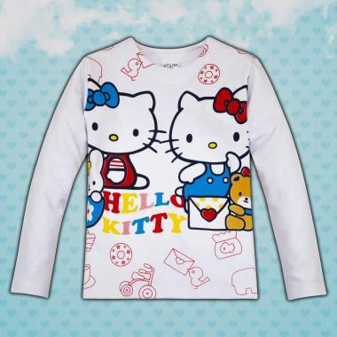 Блуза Кити в бяло