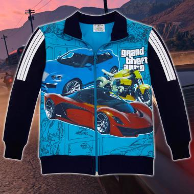 Суичър GTA в синьо
