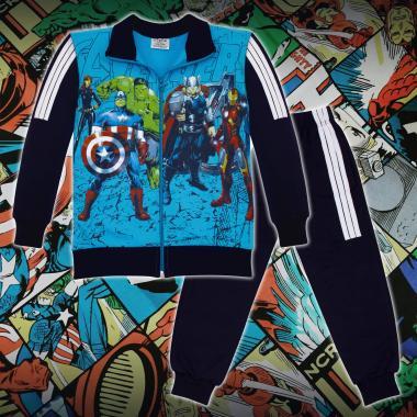 Комплект 2ч.(с/д) Avengers в синьо