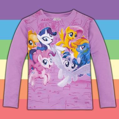 Блуза Малкото Пони в лилаво