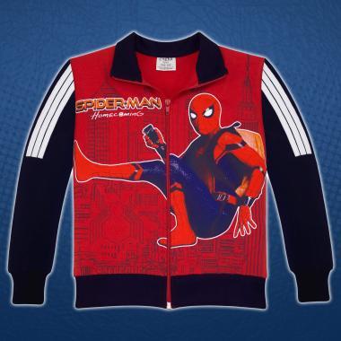 Суичър Спайдермен 2 в червено