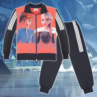 Комплект 2ч.(с/д) Замръзналото кралство-Frozen в цвят праскова