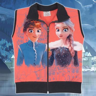 Елек Замръзналото кралство-Frozen в цвят праскова
