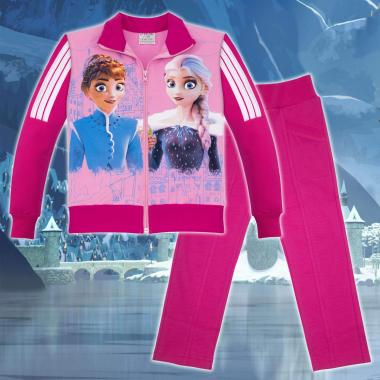 Комплект 2ч.(с/д) Замръзналото кралство-Frozen в цвят розово