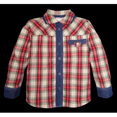 Риза каре дънков маншет K-96