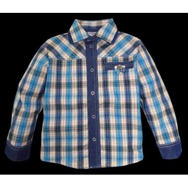 Риза каре дънков маншет K-95
