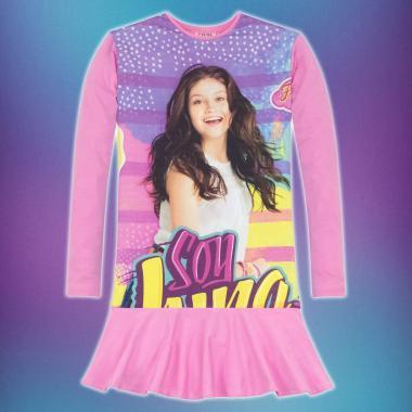 Туника-рокля Soy Luna 2 в розово