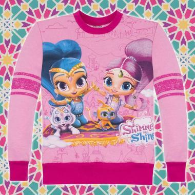 Блуза триконечна вата Искрица и Сияйница в розово
