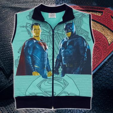 Елек триконечна вата Батман срещу Супермен в мента