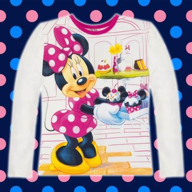 блуза тънка с дълъг ръкав Мини екрю